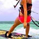 Кайтсёрфинг – спорт для сильных женщин